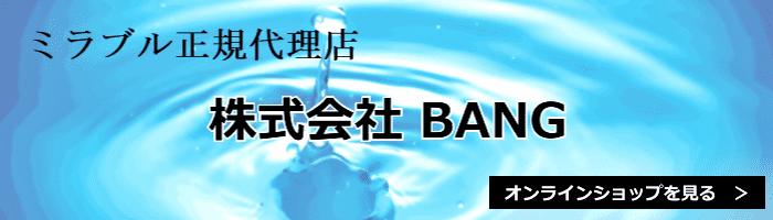 ミラブル正規代理店「株式会社BANG」